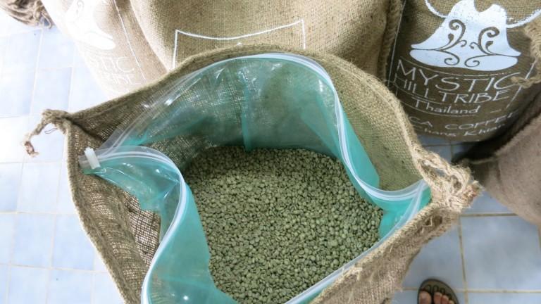 Cocoon almacena las cosechas seguras. Photo porOlga Sabristova/Die Kaffee