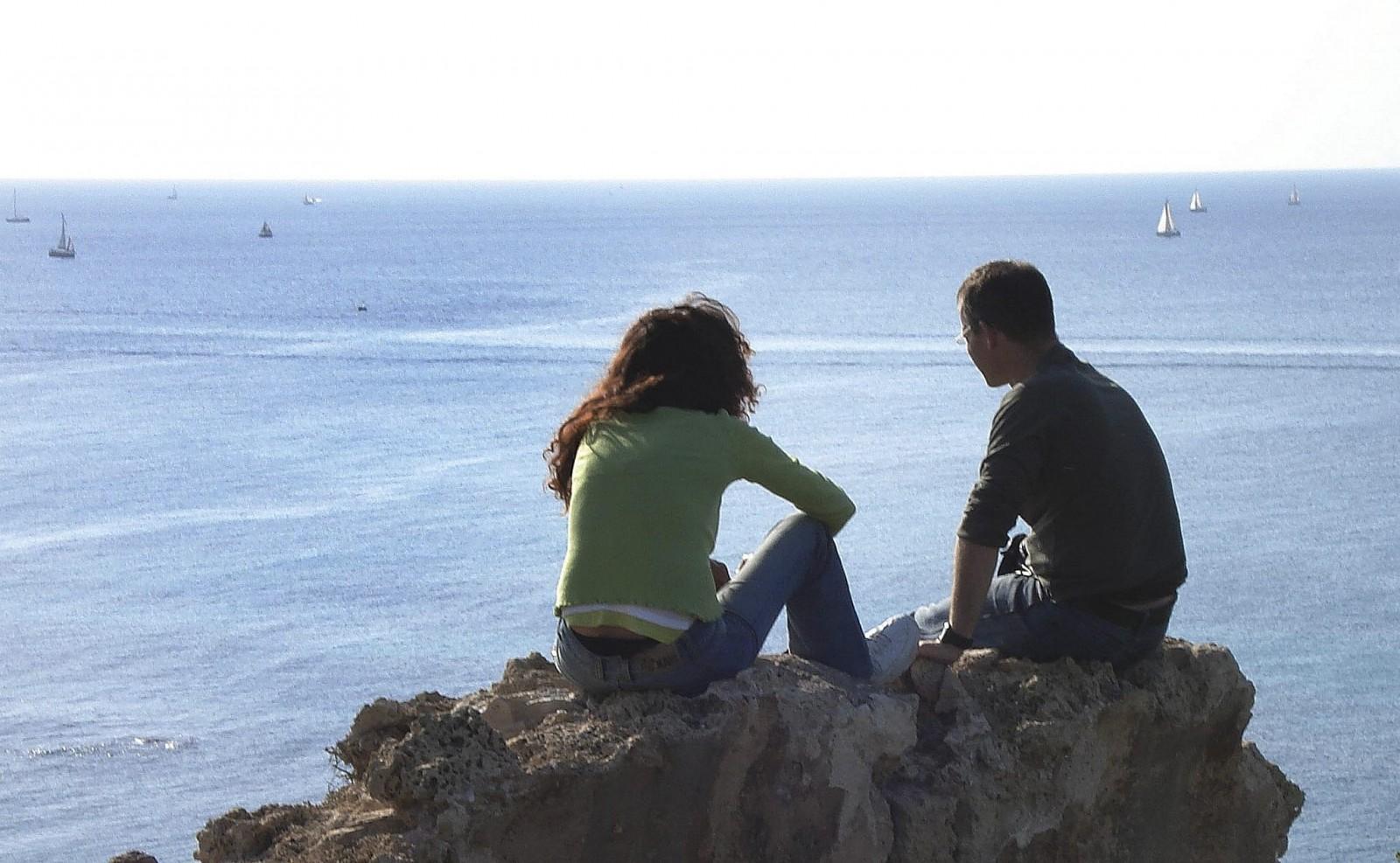 Vistas deslumbrantes desde el Parque Nacional Apollonia, Herzliya. Foto por Lara Hart/FLASH90