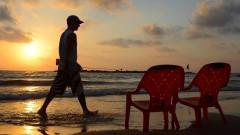 Atardecer en playa de Tel Aviv. Foto de Matt Hechter/Flash90