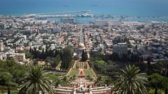 Panorámica de Haifa desde los Jardines Baha'i. Foto de Miriam Alster/Flash90