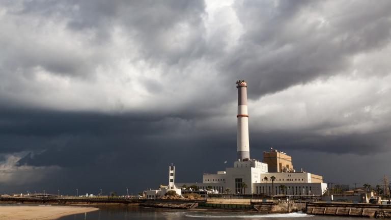Planta de energia del norte de Tel Aviv. Foto de Tomer Eliash.