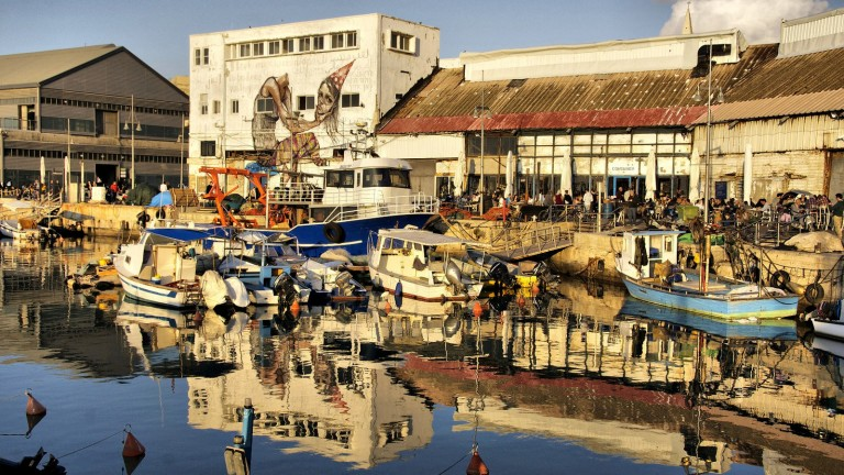 Puerto de Yaffa. Foto de Yigal Dekel.