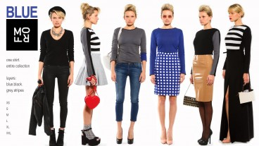 La blusa para mujeres Morf se vende en tres colores. Foto de morf-fashion.com