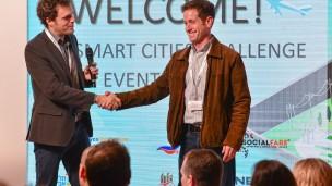 Magos Systems, ganador del concurso  3C Smart Cities Challenge. Foto vía Planet Idea.