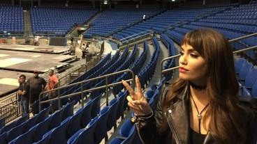 La estrella argentina del pop Lali Espósito. Imagen vía Instagram