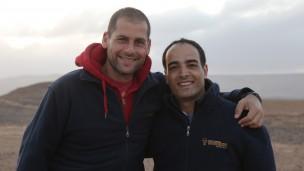 Ami Dror, izq., y Forsan Hussein son socios en Zaitoun Ventures. Foto cortesía.