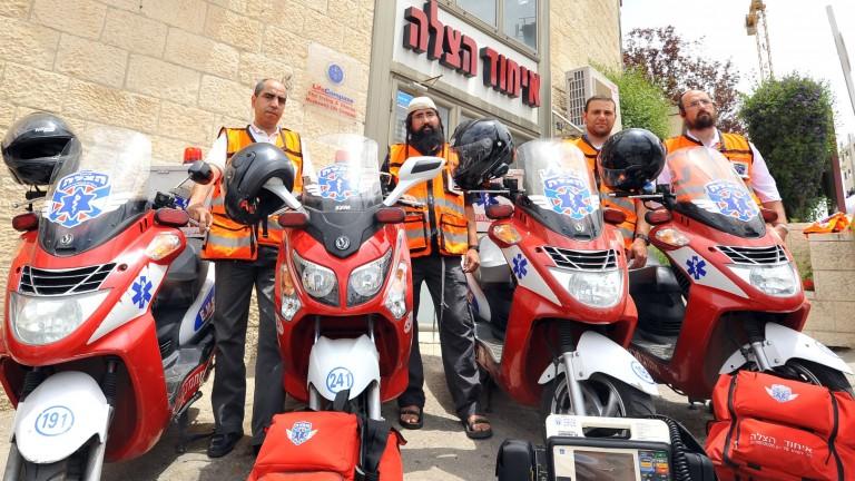 Los voluntarios de United Hatzalah representan diferentes segmentos de la sociedad israelí. Foto cortesía.