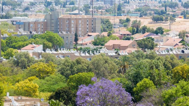 Beersheva se ha transformado rápidamente. Foto de www.shutterstock.com.