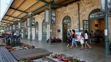 Aspecto de La Primera Estación. Foto de Miriam Alster/Flash90.