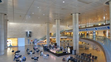 Aspecto del interior del aeropuerto. Foto de www.shutterstock.com.