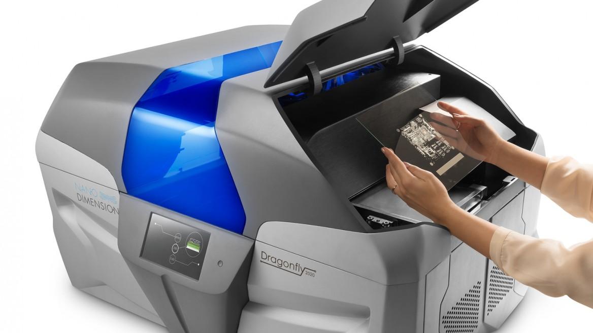 La impresora DragonFly 3D de Nano Dimension. Foto cortesía.