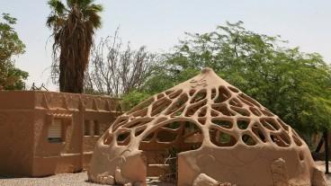 Centro de Ecología Creativa, Kibutz Lotan. Foto de Liron Almog/Flash90.