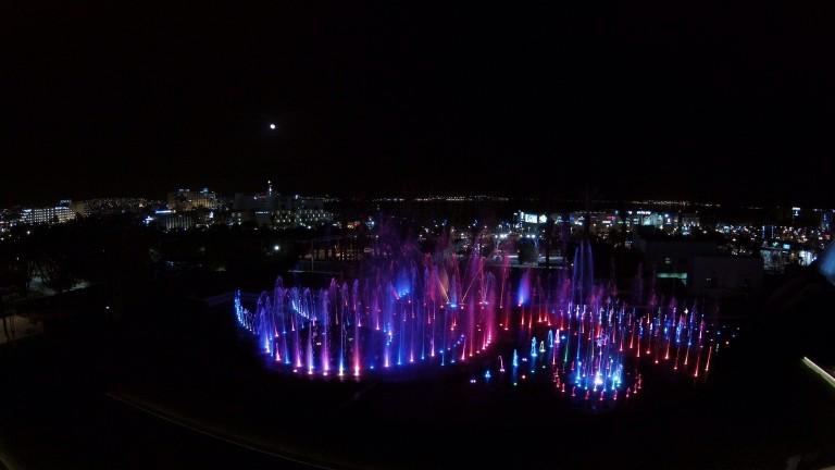La nueva Fuente Musical de Eilat. Foto de Eshed Fountains.