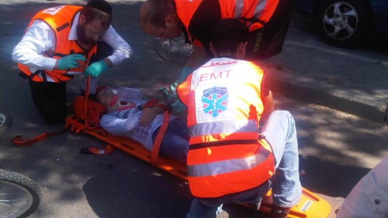 Voluntarios judíos y árabes de United Hatzalah trabajan juntos, como se ve aquí. Foto cortesía.