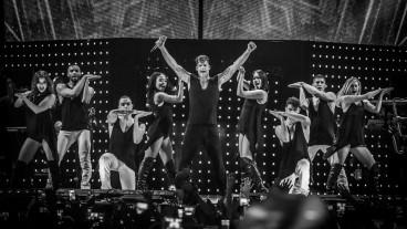 Ricky Martin trajo su espectáculo One World Tour a Tel Aviv, donde se presentó el miércoles por la noche. Foto via rickymartinmusic.com.