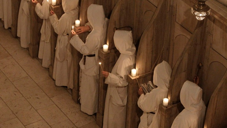 Celebración de Navidad en el monasterio de Beit Jamal, en Bet Shemesh. Foto Flash90.