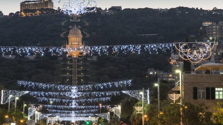 La ciudad es conocida por su espíritu de coexistencia. Foto de FLASH90.