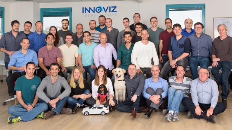 El equipo de Innoviz. Cortesía.