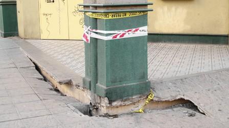 Efectos del terremoto en Chile de 2010. Foto de Shutterstock.com.