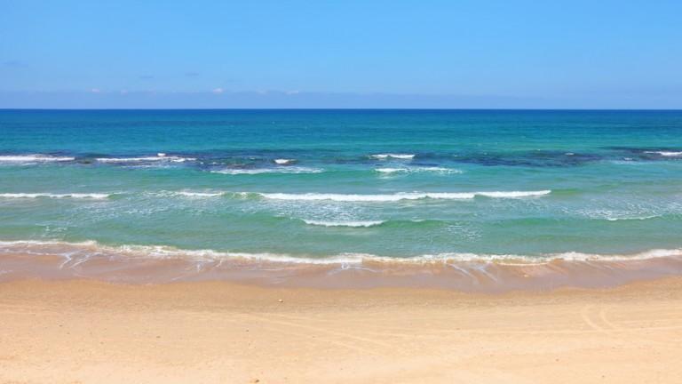 La costa de Israel tiene incontables puntos románticos. Foto vía Shutterstock.com.