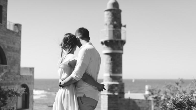 Jaffa ofrece un escenario perfecto para fotografías de bodas. Foto vía Shutterstock.