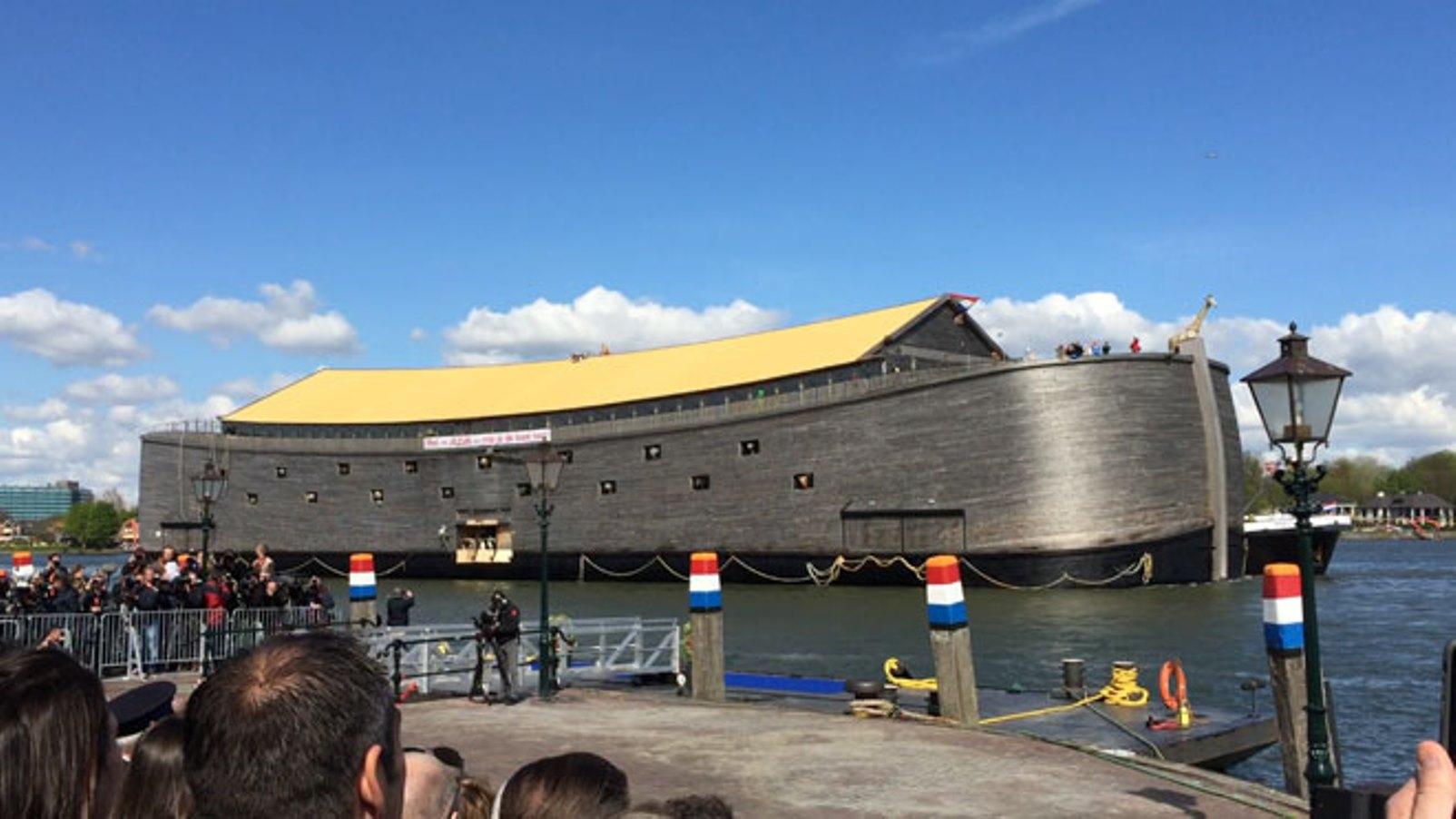 Cientos de miles de personas visitaron el Arca de Noé holandesa terminada en 2013. Foto: cortesía Fundación El Arca de Noé