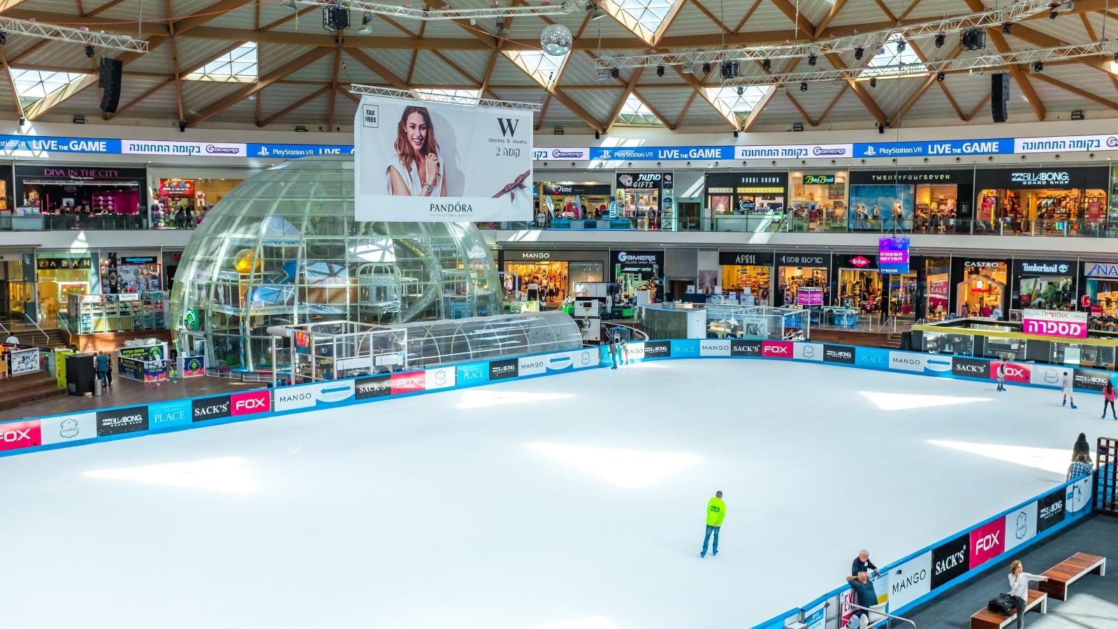 Centro comercial Ice en Eilat. Foto: Denzel9/Shutterstock.com
