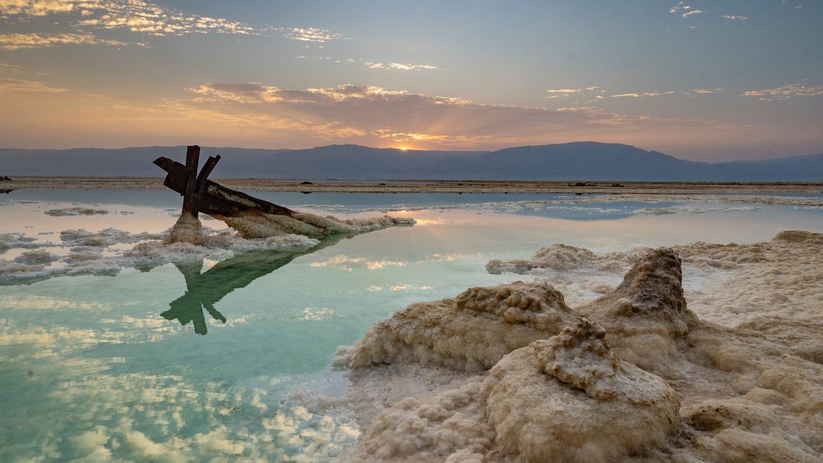 9 Impactantes Fotos Sobre Cómo Desaparece Del Mar Muerto